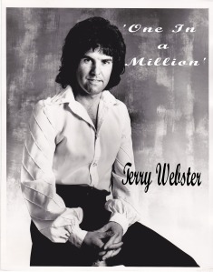 Terry 1970s poser white blouson