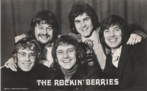 rocking berries 70's black n white