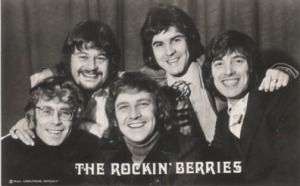 rocking berries 70's black n white