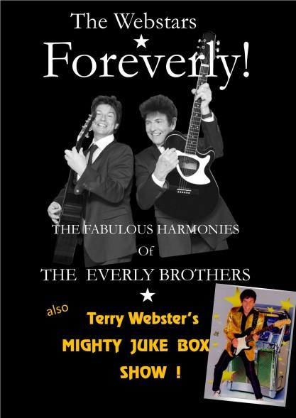 FOREVERLY double bill JUKE BOX SHOW black gtr